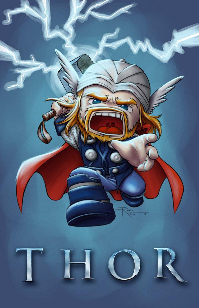 Thor Chibi by Raven-B-A