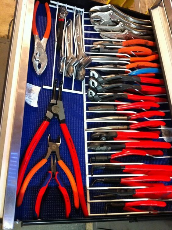 Lets See Your Pliers Racks Homemade Bought