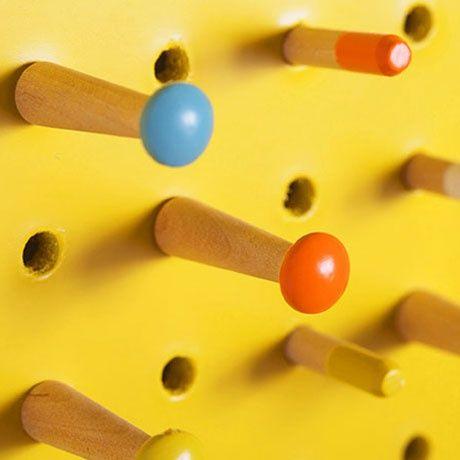 pin pin /  Medium Pinnwand - Gelb von Block Design