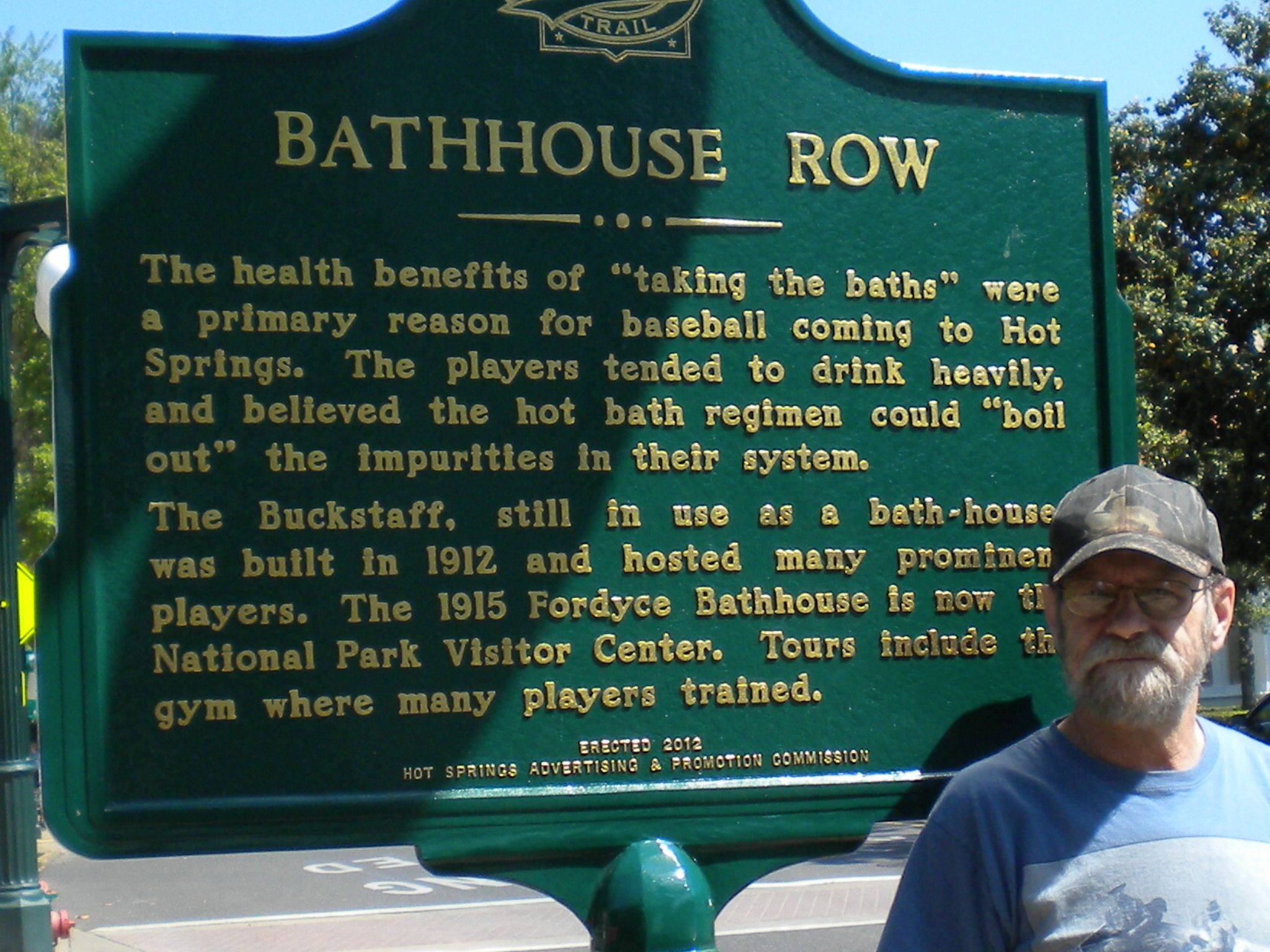 Markers will tell the story of early teams and players in Hot Springs Arkansas
