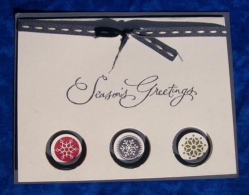 Stampin up paper and ribbon.