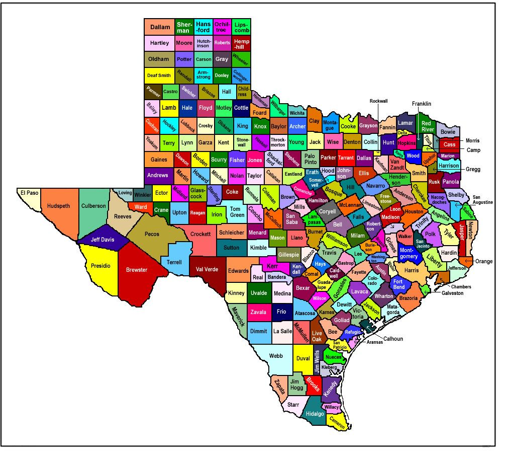 Texas Map Texas Treasures Pinterest Texas - Texas map with cities and counties