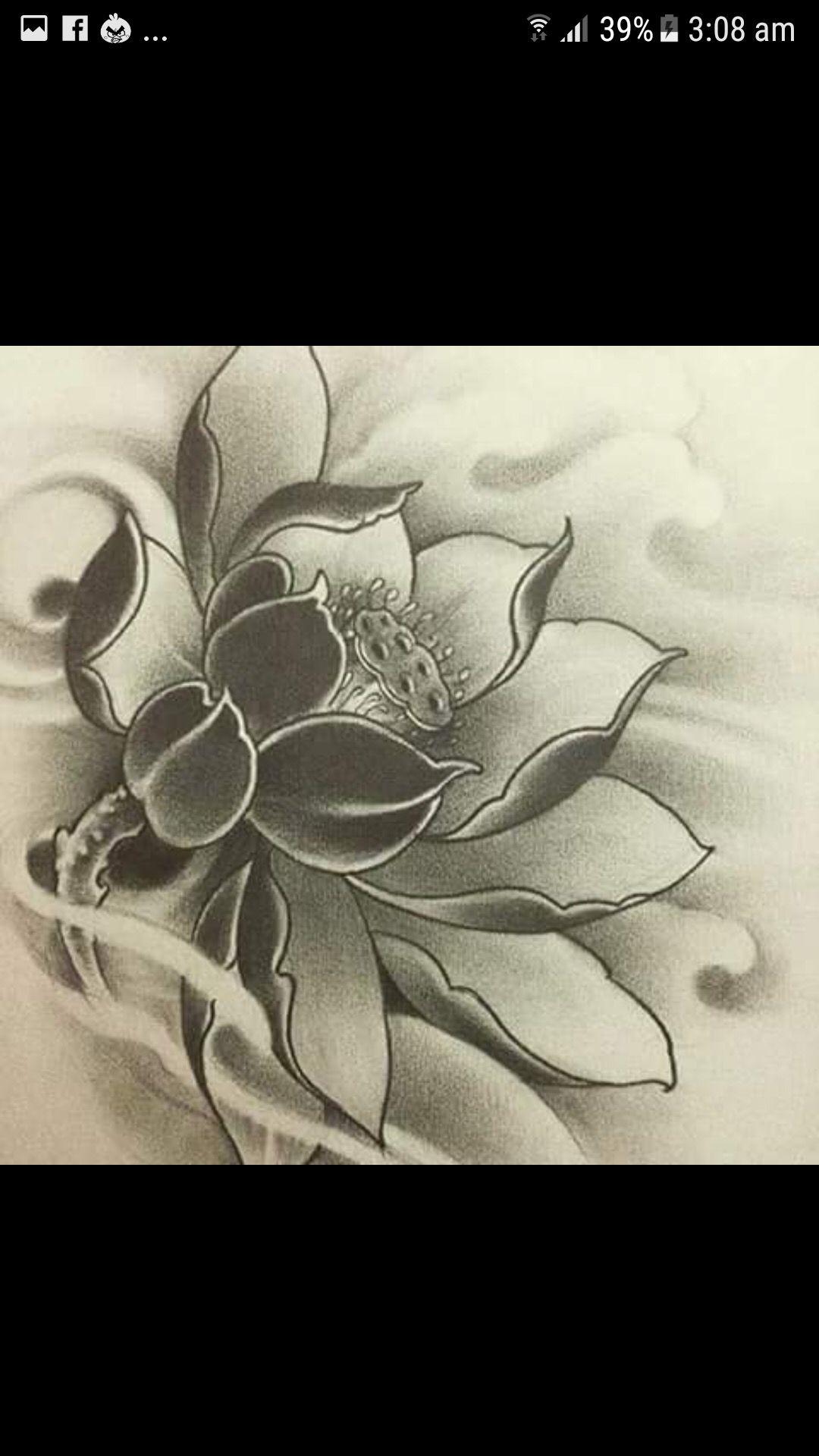 Pin De Agus Tyas Em Flowers Flor De Lotos Tattoo Flor Oriental