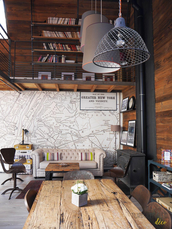 Visite priv e urban room un d cor tr s industriel for Garage coquard lyon 7