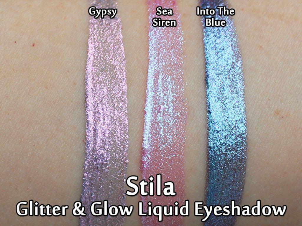niesamowite ceny wiele modnych dobra obsługa Stila Glitter & Glow Liquid Eyeshadows in Gypsy, Sea Siren ...