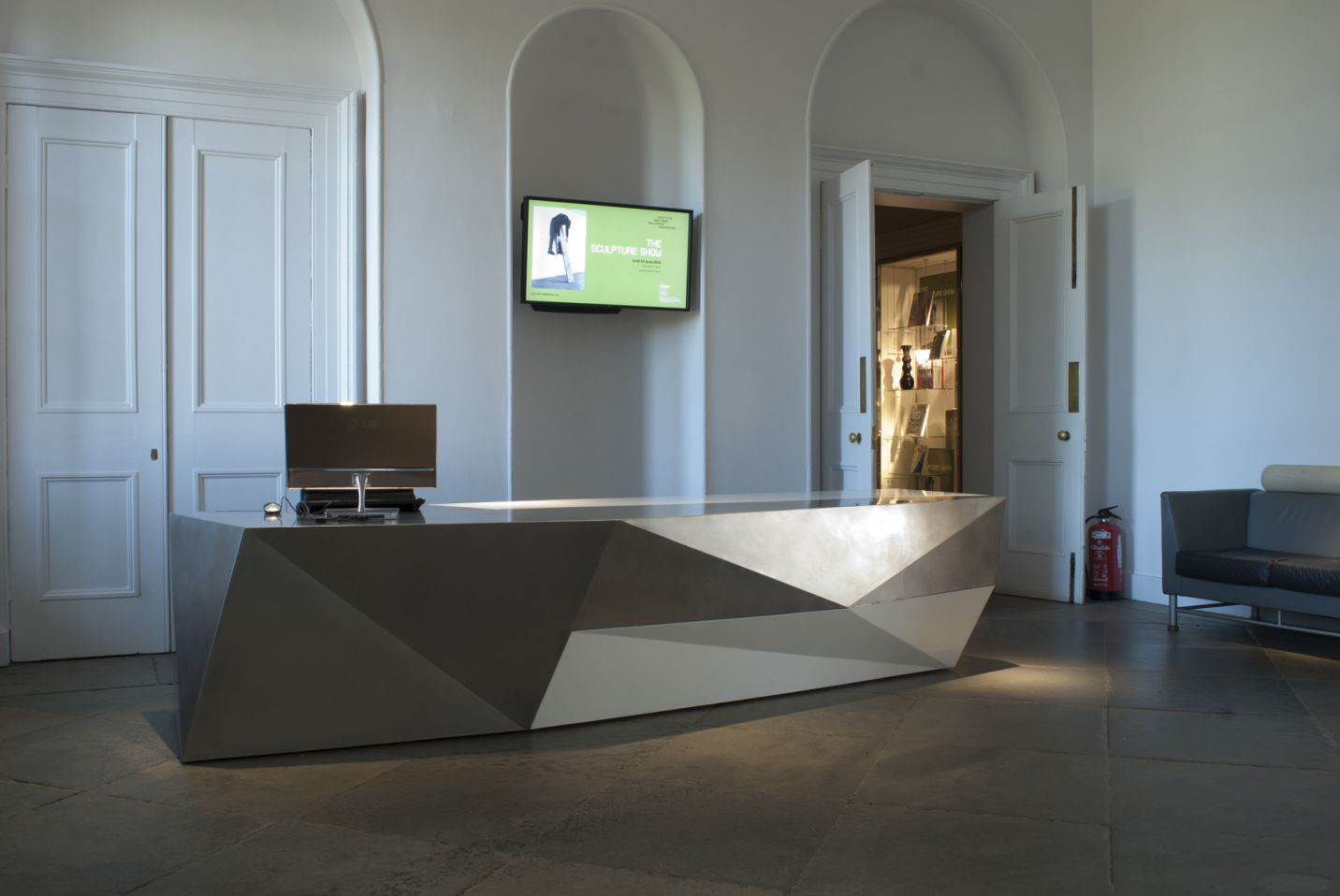 Modern Front Desk Designs Home Office Furniture Collections  # Muebles Hilton Capital Federal