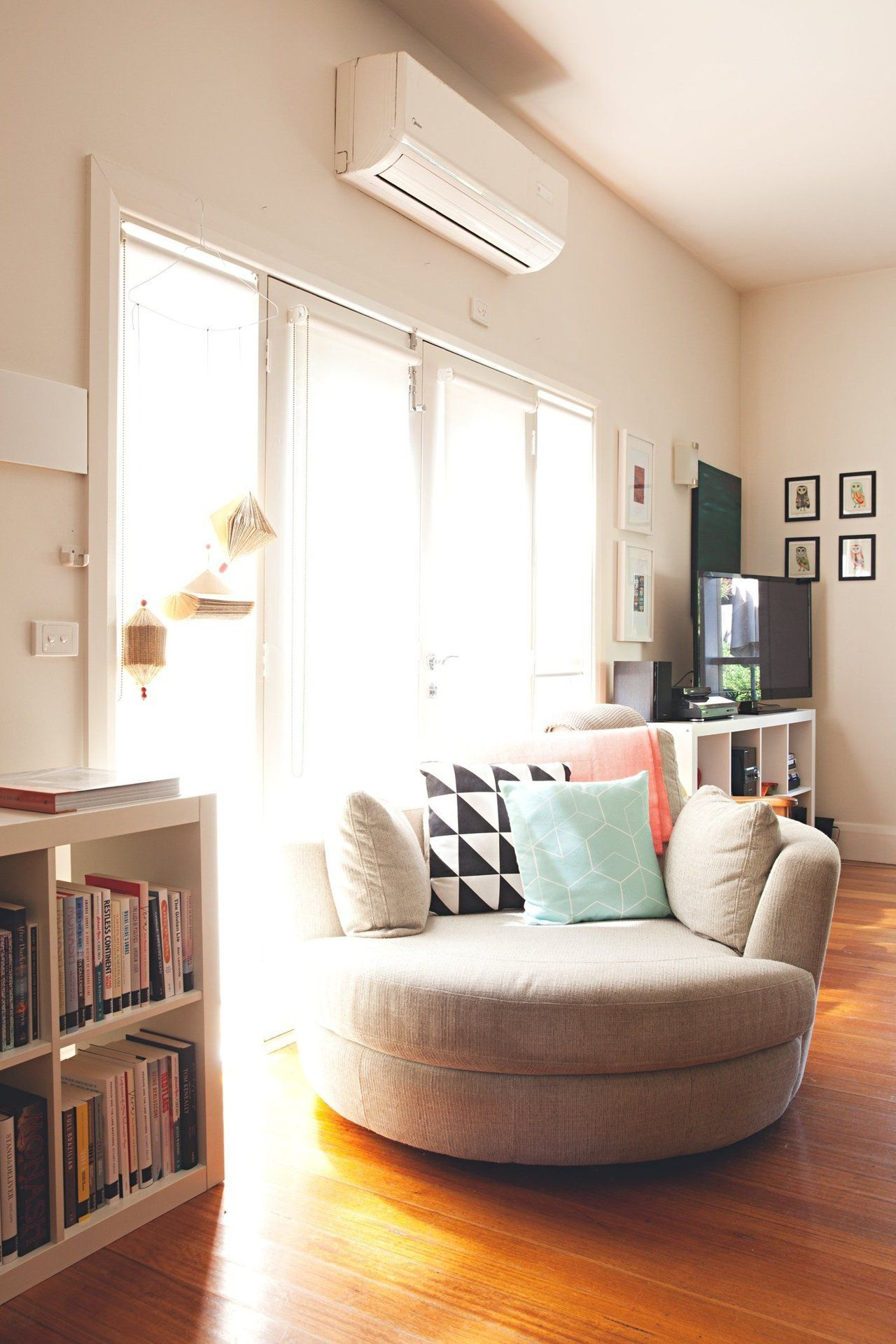 House Tour: A Happy, Colorful Home In Australia. Cuddler ChairReading  ChairsComfy ...