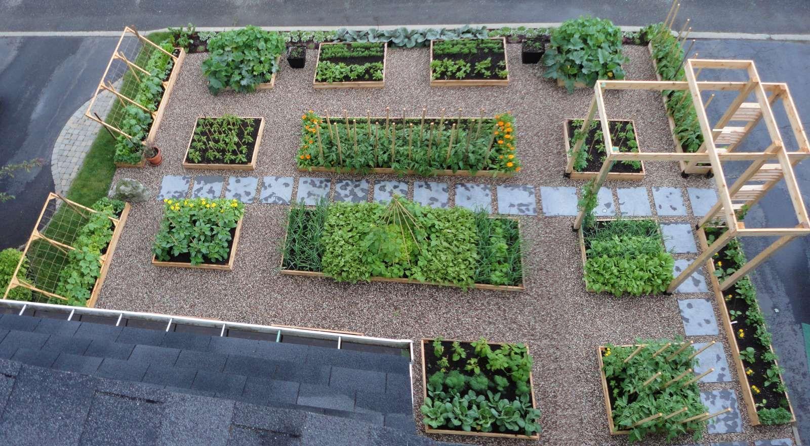 French Kitchen Garden Potager   Re Illegal Front Yard Garden ...