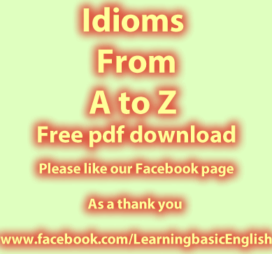 Idioms From A To Z To Download In Pdf Idioms Pinterest Pdf