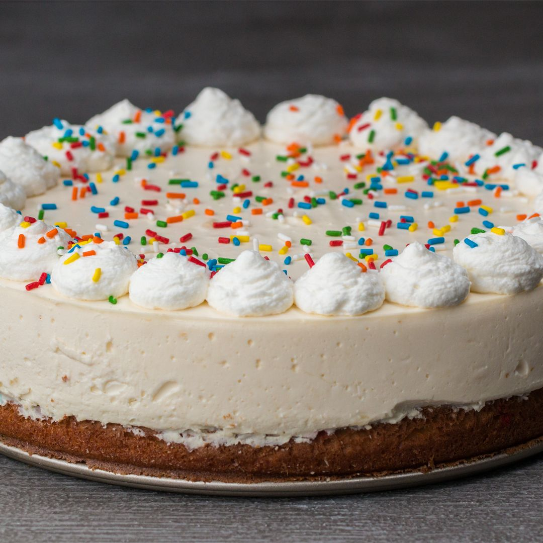 Heres What You Need Birthday Cake Mix Cream Cheese Sugar Vanilla Extract Milk Gelatin Powder Whipped Sprinkles