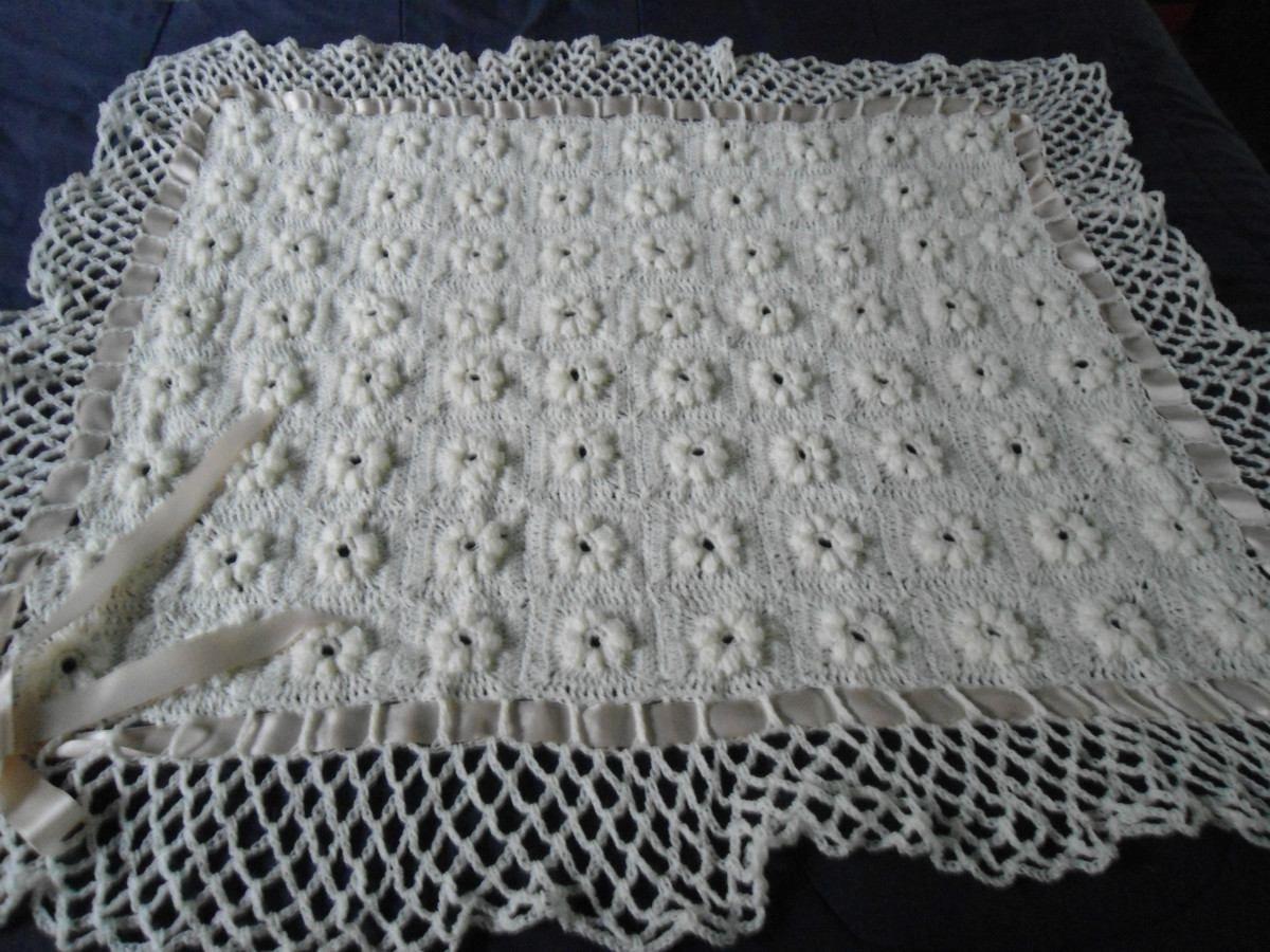 Puntos de crochet para mantas de beb imagui mantas - Mantas de crochet paso a paso ...