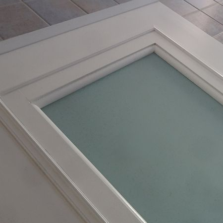 Customise A Hollow Core Door With Glass Panel I Have