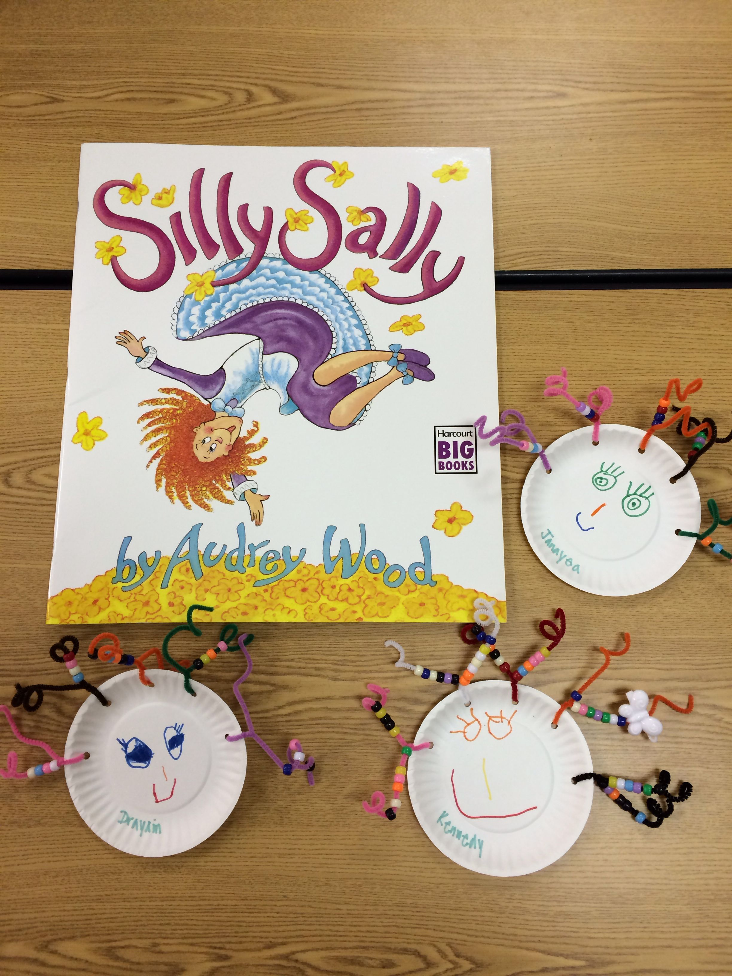 Silly Sally Preschool Art Project