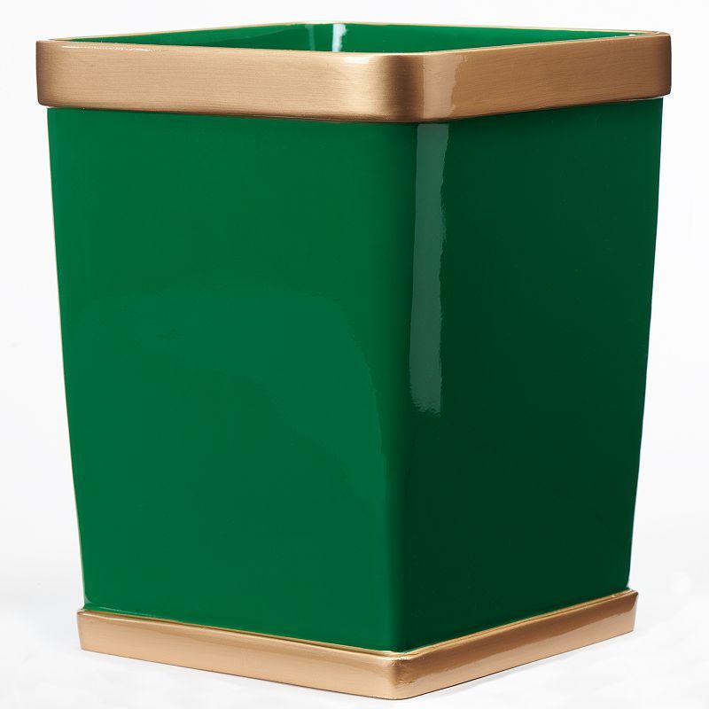Excell Del Ray Wastebasket, Green