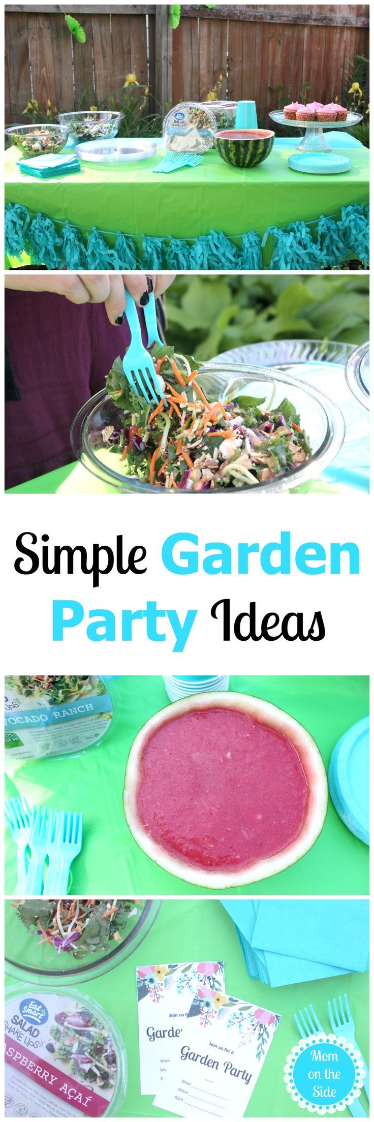 Simple Garden Party Ideas | Eat smart