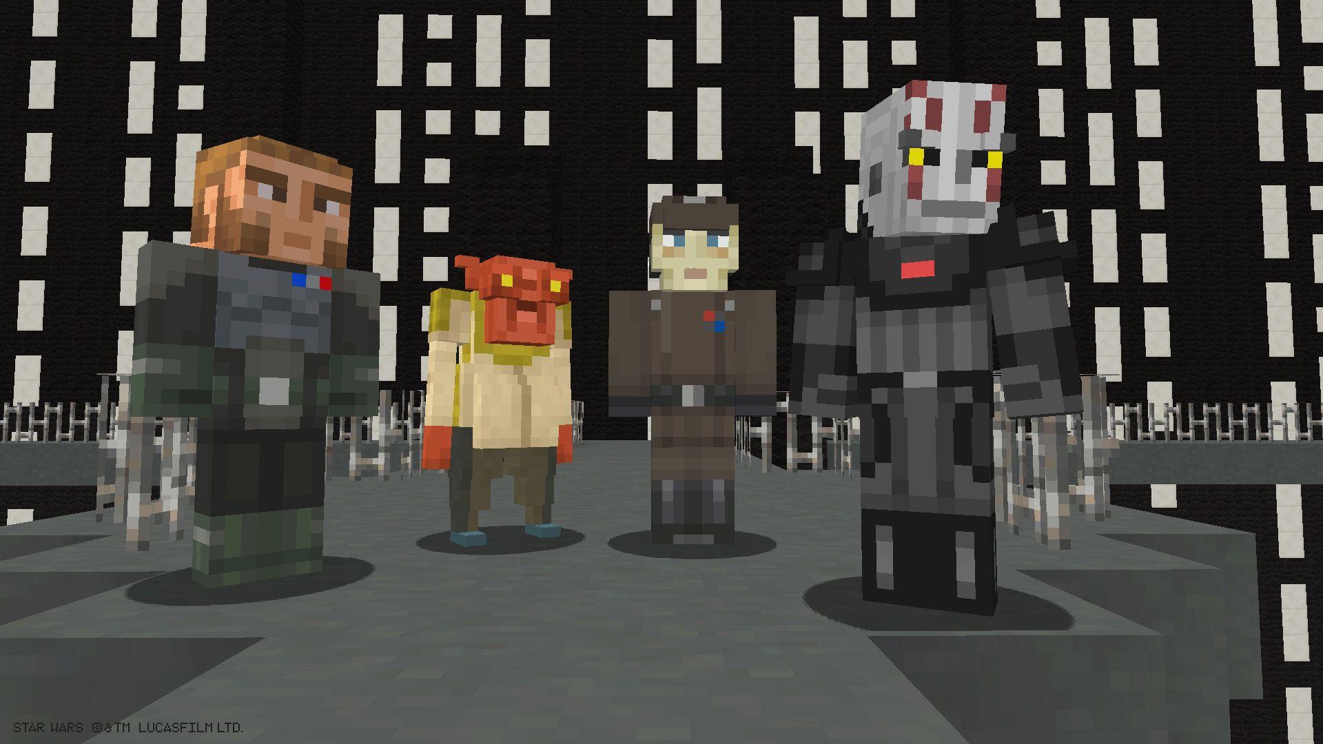 11 Awesome Star Wars Minecraft Creations  StarWars.com  Star wars