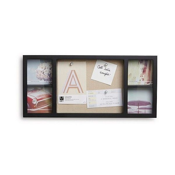 Loft by Umbra Frame & Corkboard ($25) ❤ liked on Polyvore featuring ...