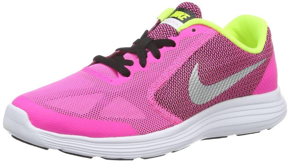 4991d9a8a75db Details about Nike Revolution 3 (GS) Girls Grade School Running ...