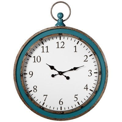 "CBK Home Away 31"" Wall Clock"