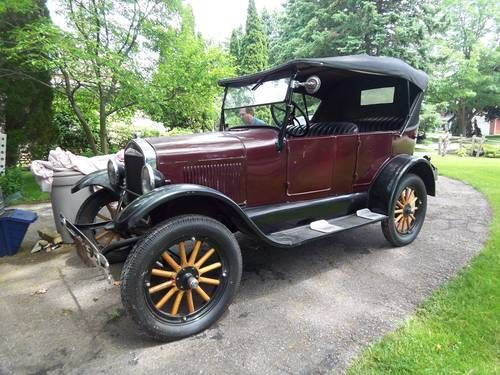 Ford Model T Tourer Made In Canada For Sale 1926 Ford Classic
