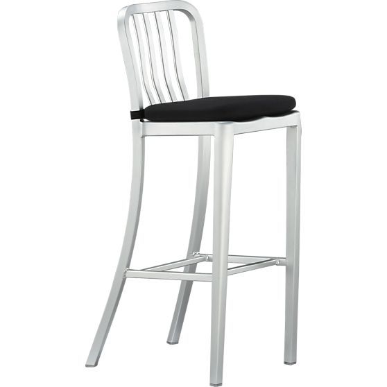 Delta Aluminum Counter Stool Crate And Barrel Bar Stools Stool Cushions