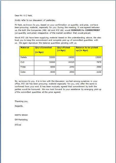 purchase order letter sample pdf