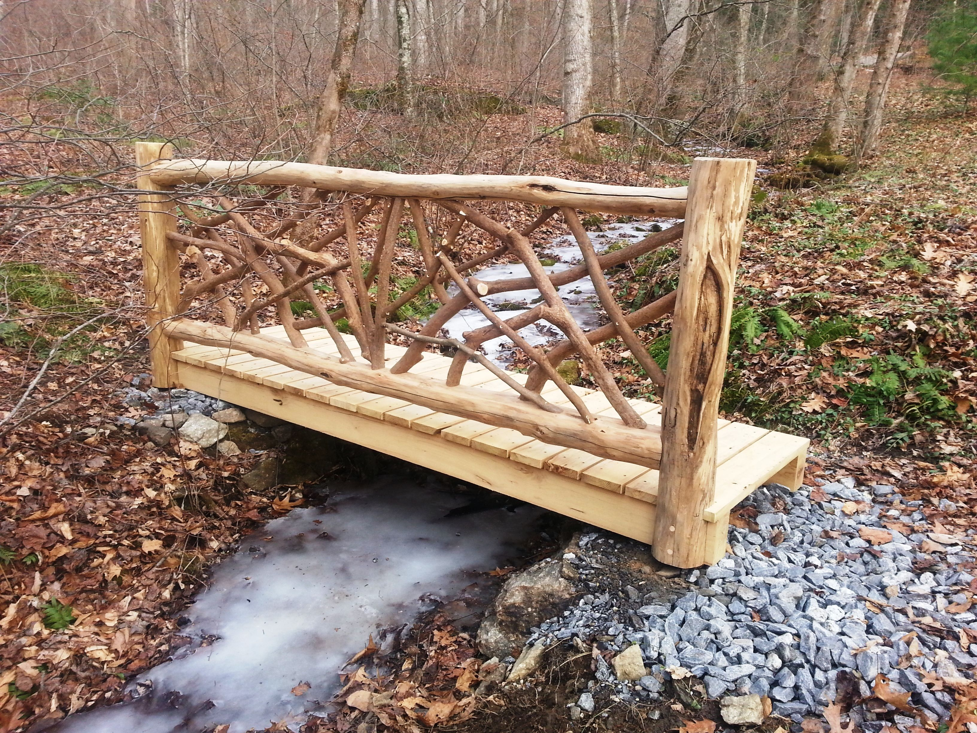 Good Lord Willing And The Creek Don T Rise Well Even If It Does This Locust Foot Bridge Will Be Just Fine