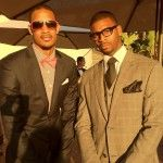 Trevor Ariza and Dorell Wright attend the wedding of Quentin Richardson