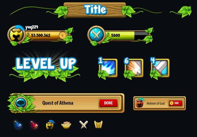 Fantasy GUI Pack | Unity Community | Game UI | Game ui