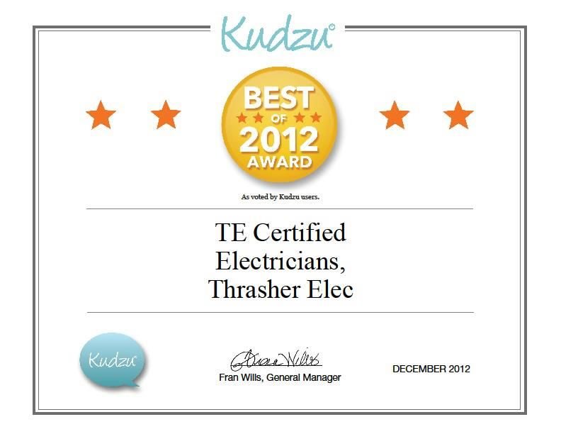 Best Of Kudzu 2012 Awards Thrasher Electrician