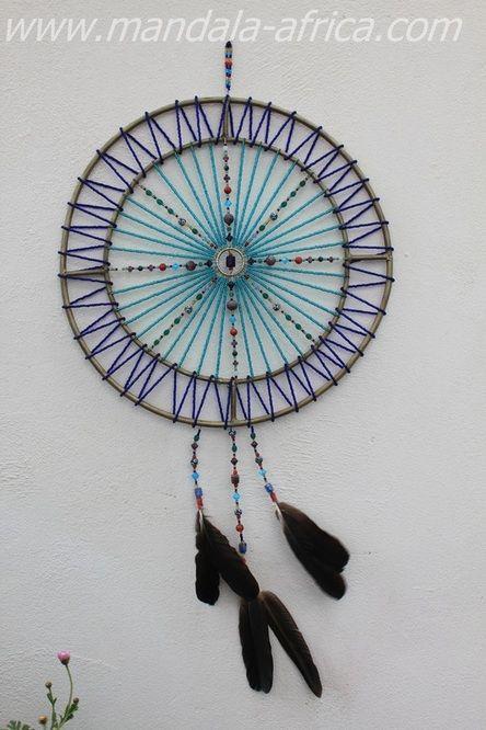 blue planet by mandala africa dreamcatchers pinterest. Black Bedroom Furniture Sets. Home Design Ideas