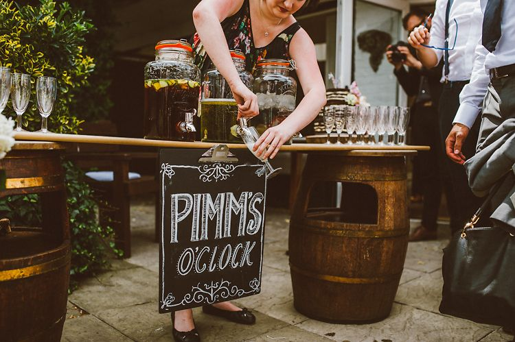 Casual & Relaxed Outdoor Country Rustic Pub Wedding