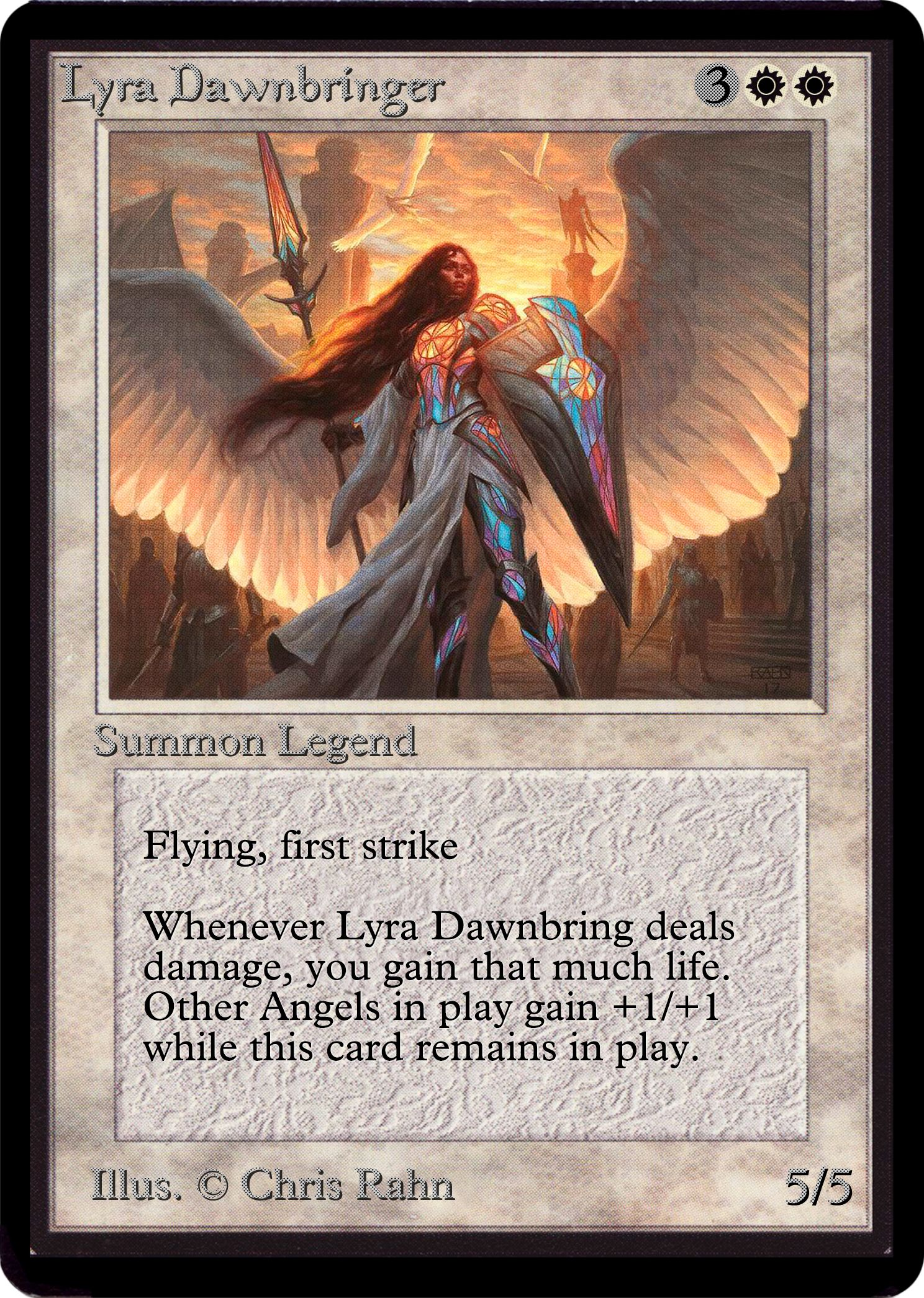 Mtg Lyra Dawnbringer Armor Magic Gathering Cards