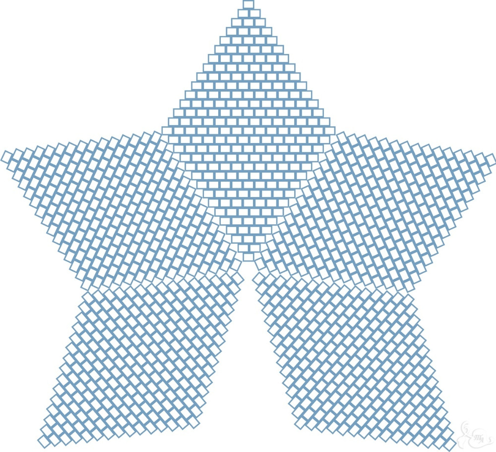 Zvezdochki 348 Photos Vk In 2020 Crochet Star Patterns Bead Weaving Patterns Peyote Stitch Patterns