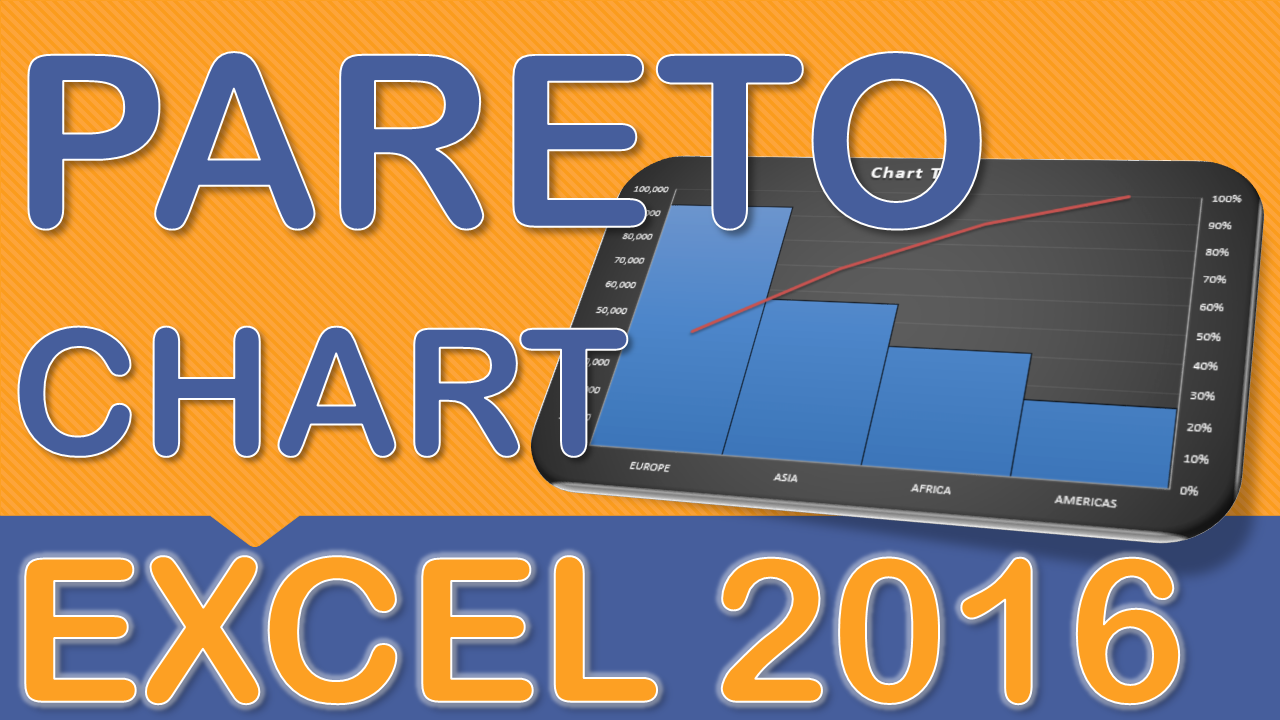 Pareto charts are one of the many new charts available only in excel pareto charts are one of the many new charts available only in excel 2016 they nvjuhfo Images