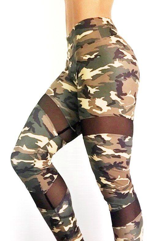 Abs2b Camo Spiral Mesh Leggings   gym clothes & shoes   Pinterest ...