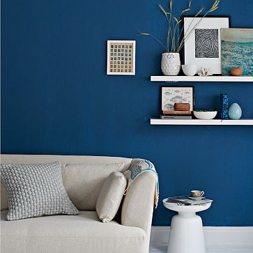 blue danube paint color Living Room Ideas! Pinterest - farbgestaltung wohnzimmer blau