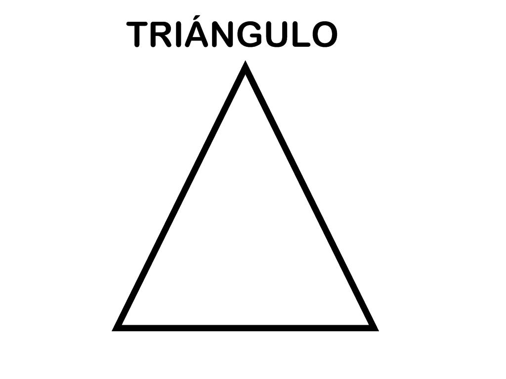 Recursos Educacion Infantil El Triangulo Figuras Geometricas Para Preescolar Triangulos Educacion Infantil
