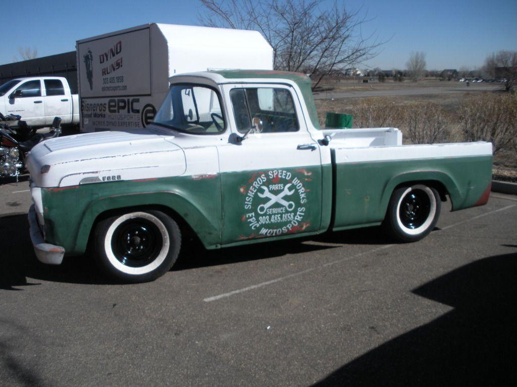 1957 Ford F100 shop truck Maintenance/restoration of old/vintage ...