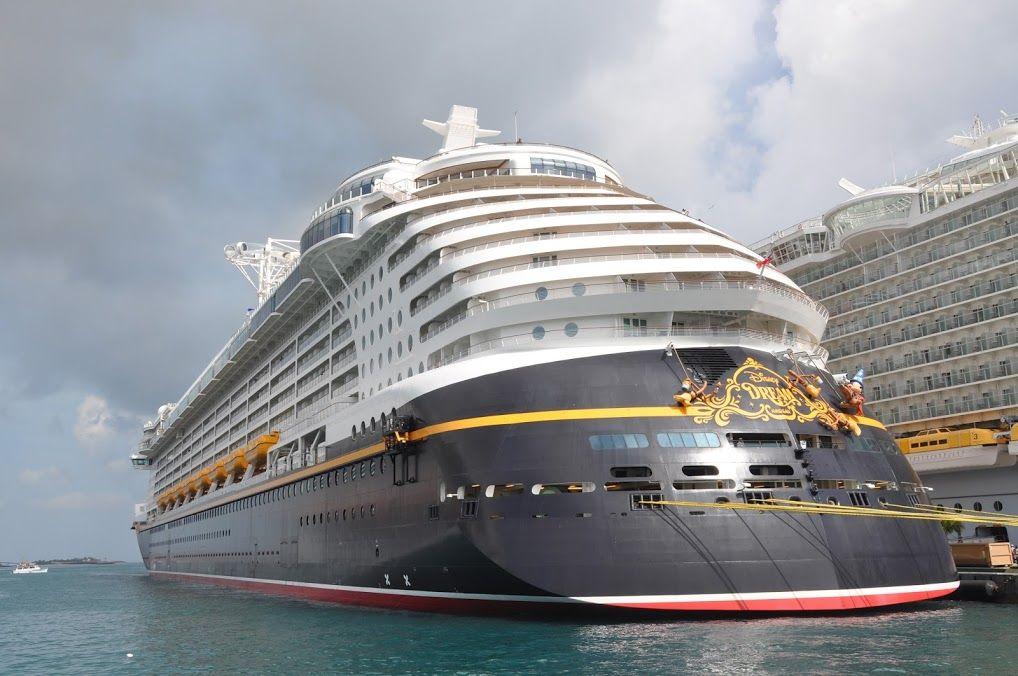 Disney Dream Cruise Ship Docked In Nassau Bahamas Disney Cruise - Track disney cruise ship