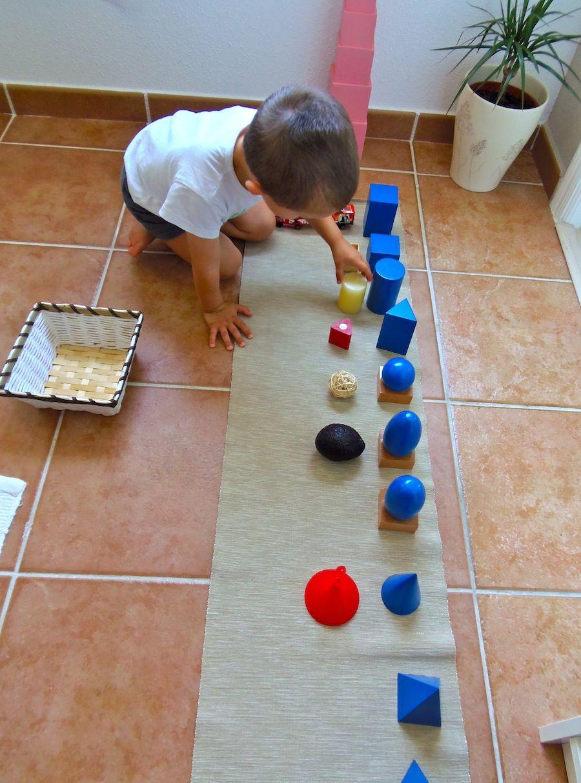 Montessori En Casa Extensiones Solidos Geometricos Geometric