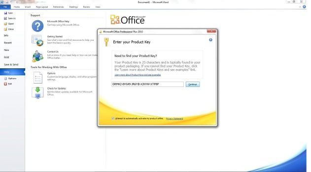 keygen office 2010 pro plus