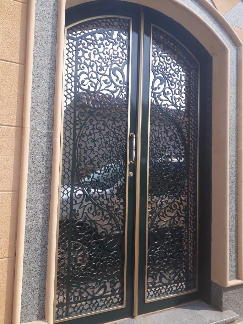 Saudiarabia Riyadh Doors Gates Design Cnc Lifestyle Modern Cadd Beautiful Metaldoor Lasercut ابواب I Main Gate Design Iron Doors Door Gate Design
