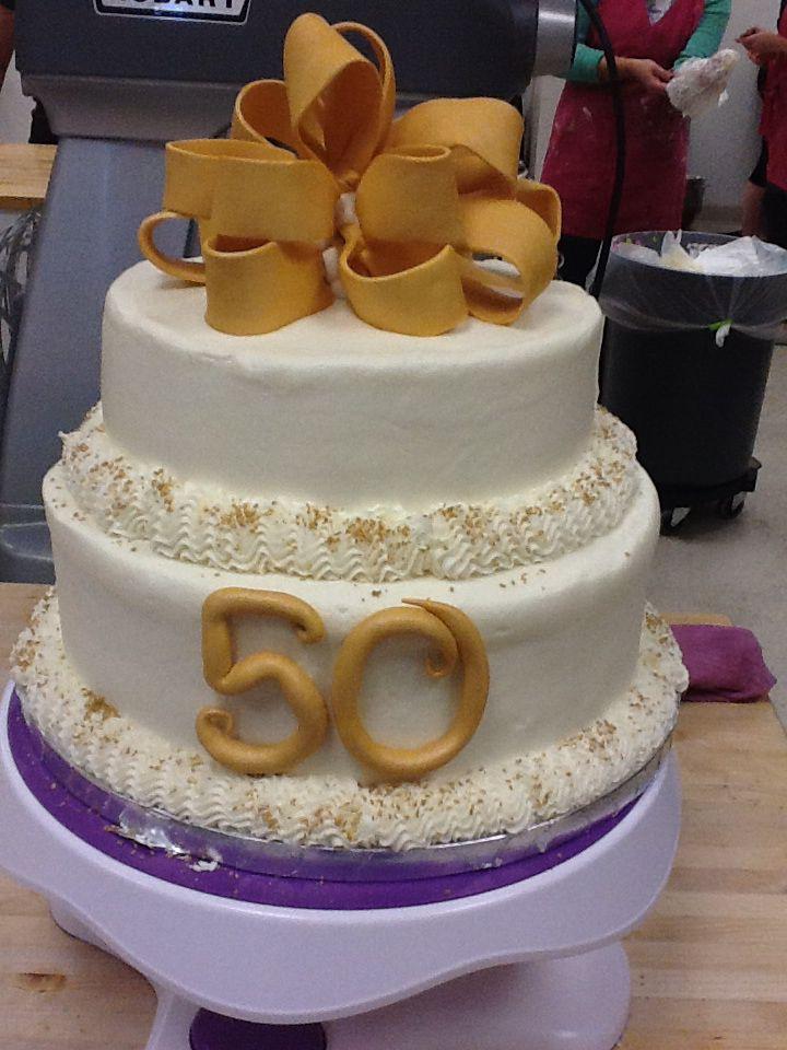 50th Anniversary Cake Miss Joan S Cupcakes Naperville Il 50th Anniversary Cakes Cake Anniversary Cake