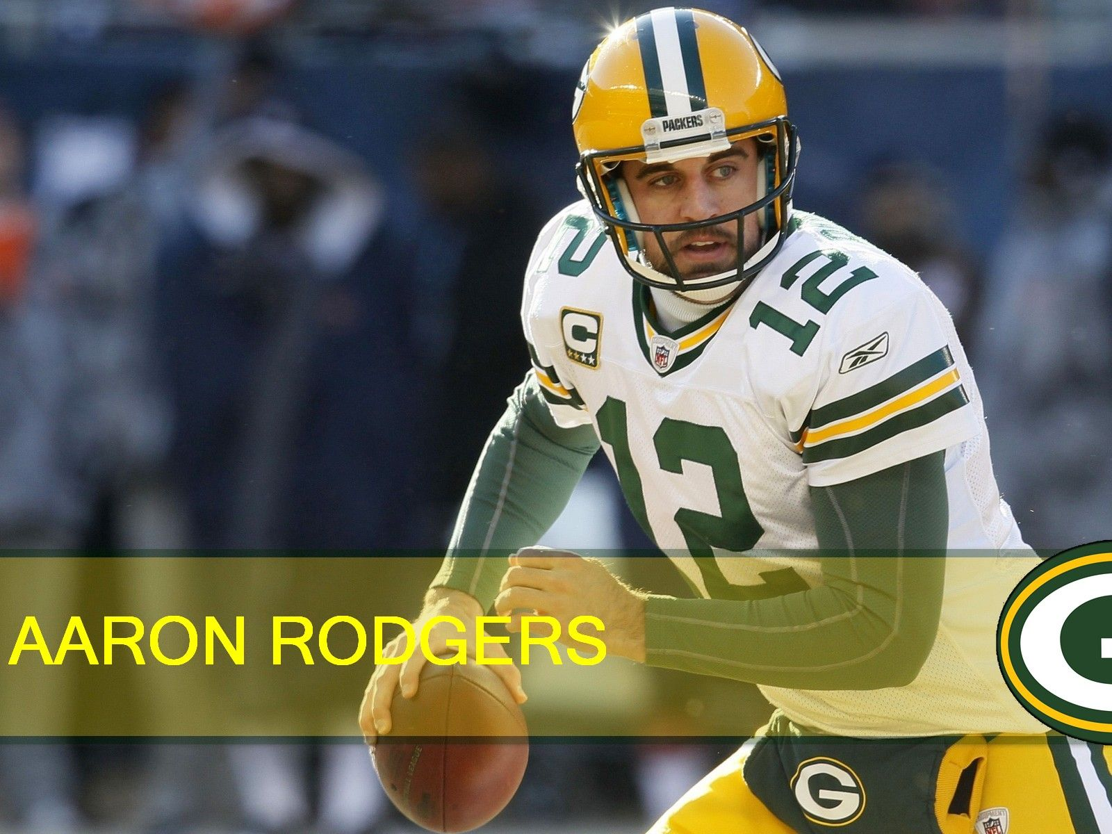 Nfl Packersns Nfl Green Bay Packers Qb Aaron Rodgers 1600x1200 Desktop Nfl Green Aaron Rodgers Packers Green Bay Packers Logo