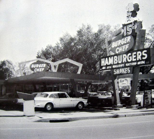 Burger Chef 67 Alton Illinois Danville Illinois Vintage