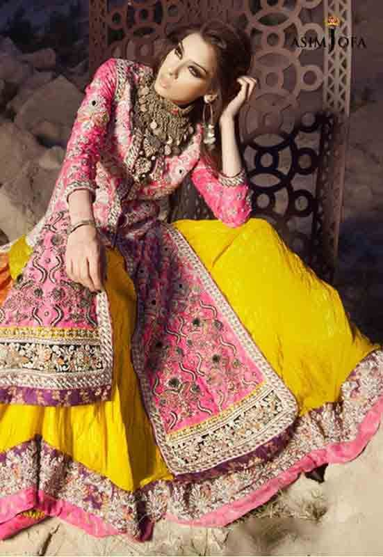 Stani Designer Bridal Mehndi Dresses With Prices