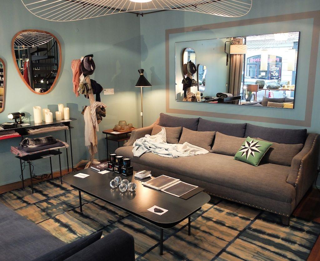 sarah lavoine rue saint roch paris living room. Black Bedroom Furniture Sets. Home Design Ideas