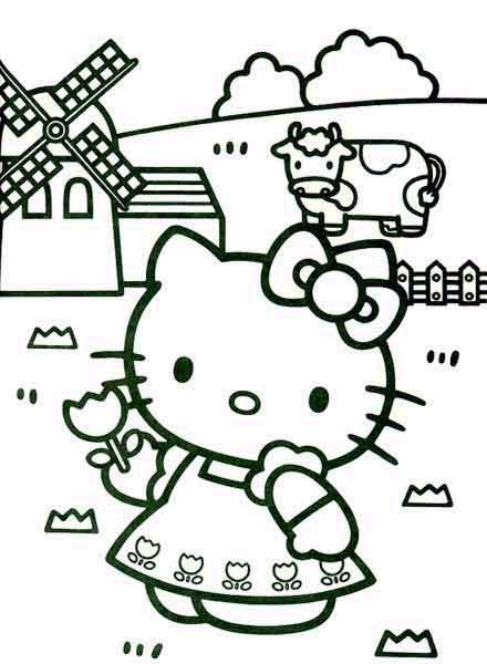 Hello Kids Hello Kitty Coloring Kitty Coloring Hello Kitty Colouring Pages