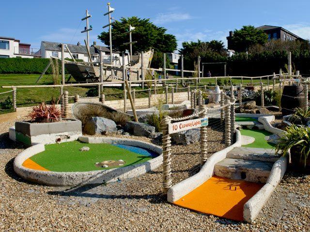 Adventure Golf And Adventure Play Area Holiday Park Devon Holidays Woolacombe Bay